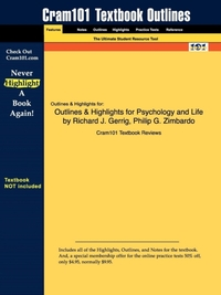 Outlines & Highlights for Psychology and