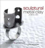 Sculptural Metal Clay Jewelry