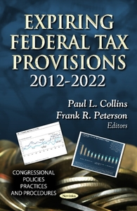 Expiring Federal Tax Provisions 2012-202