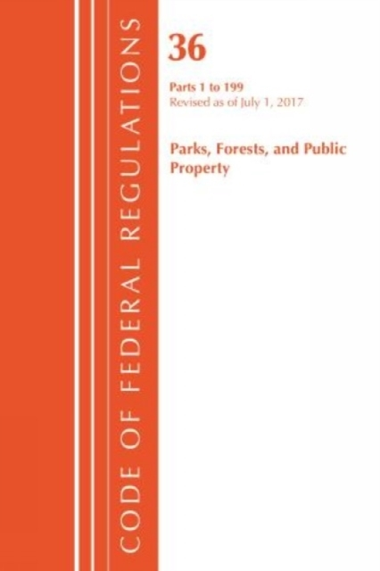 Code of Federal Regulations, Title 36 Pa
