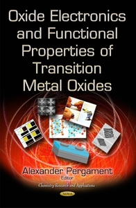 Oxide Electronics and Functional Propert