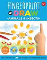 Fingerprint & Draw: Animals & Insects