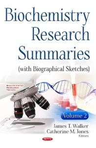 Biochemistry Research Summaries (with Bi