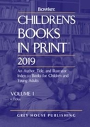 Children's Books In Print, 2019