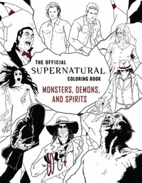 The Official Supernatural Coloring Book: