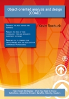 Object-oriented analysis and design (OOA