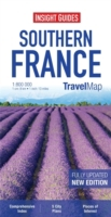 Insight Guides Travel Map Southern Franc