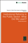 Institutional Reforms in the Public Sect