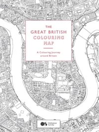 Great British Colouring Map: A colouring