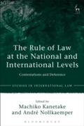 Rule of Law at the National and Internat