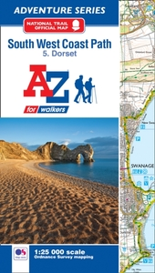 SW Coast Path Dorset Adventure Atlas
