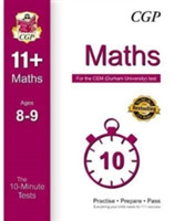 10-Minute Tests for 11+ Maths Ages 8-9 -