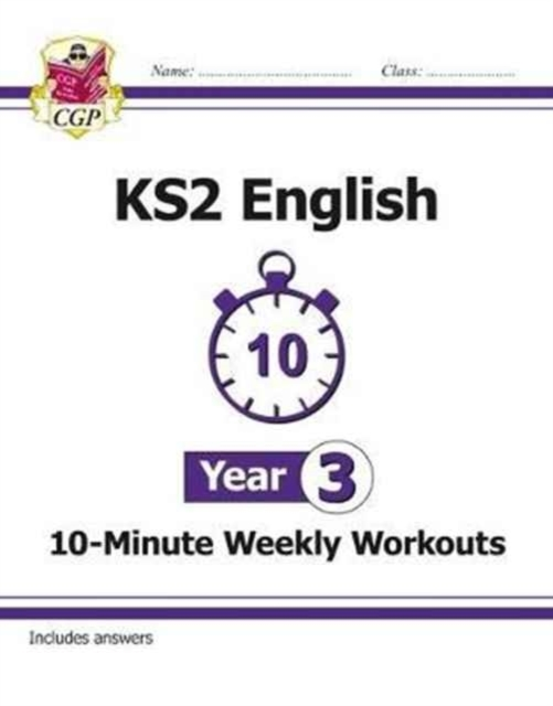 New KS2 English 10-Minute Weekly Workout