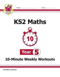 New KS2 Maths 10-Minute Weekly Workouts
