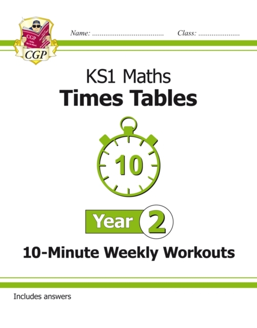 New KS1 Maths: Times Tables 10-Minute We