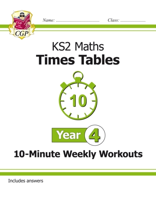 New KS2 Maths: Times Tables 10-Minute We