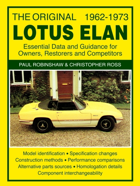 The Original Lotus Elan - Essential Data