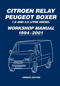 Citroen Relay Peugeot Boxer 1.9 and 2.5