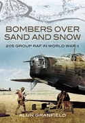 Bombers over Sand and Snow