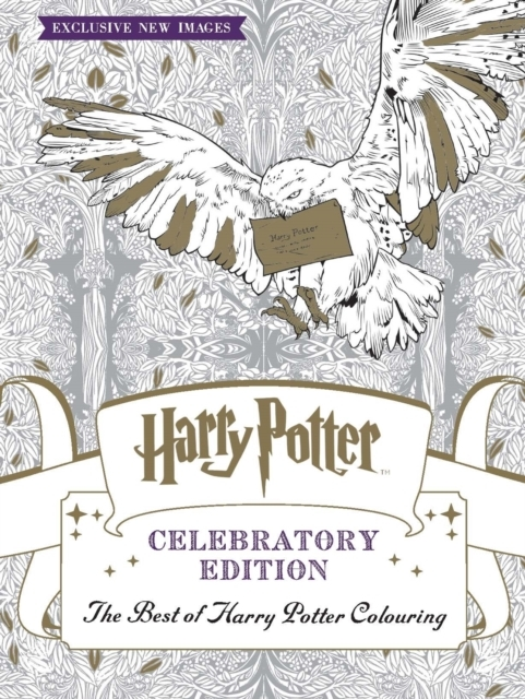 Harry Potter Colouring Book Celebratory