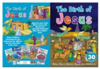 Bible Story Sticker Book for Children: T