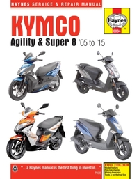 Kymco Agility & Super 8 Scooters (05 - 1