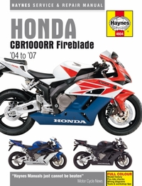 Honda CBR1000Rr Fireblade Service And Re