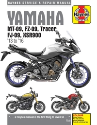 Yamaha Mt-09, Tracer And Xsr900 (13 - 16