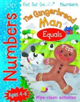 Get Set Go Numbers: The Gingerbread Man