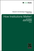 How Institutions Matter!