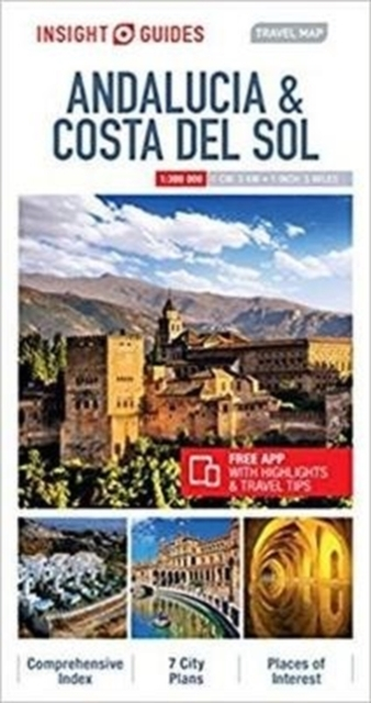 Insight Guides Travel Map Andalucia & Co