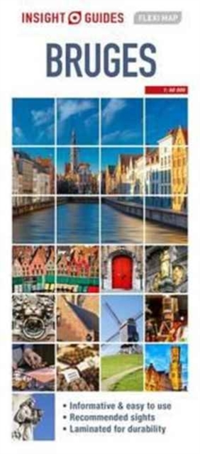 Insight Guides Flexi Map Bruges