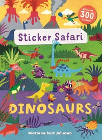 Sticker Safari: Dinosaurs
