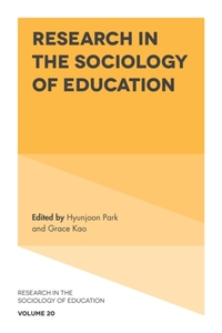 Research in the Sociology of Education