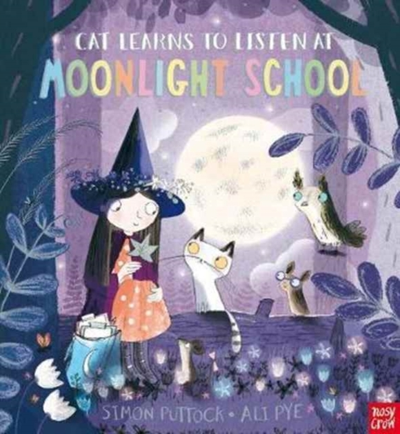Cat Learns to Listen at Moonlight School
