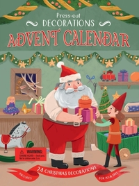 Press-Out Decorations: Advent Calendar