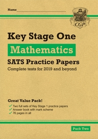 New KS1 Maths SATS Practice Papers: Pack