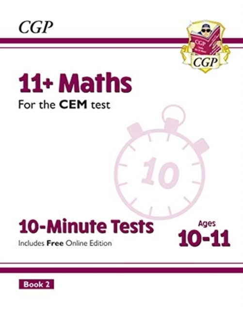 New 11+ CEM 10-Minute Tests: Maths - Age