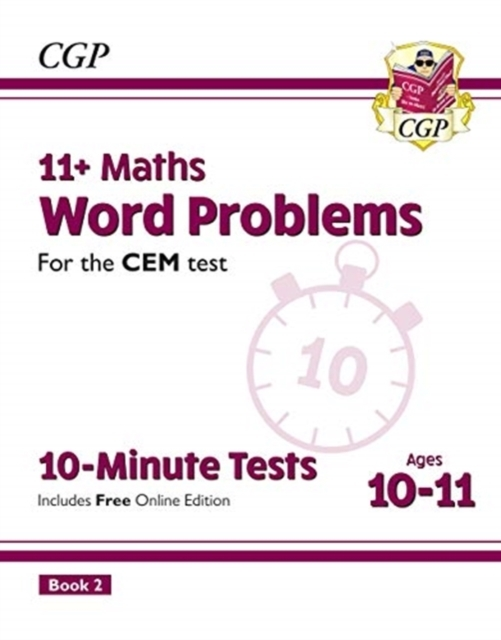 New 11+ CEM 10-Minute Tests: Maths Word