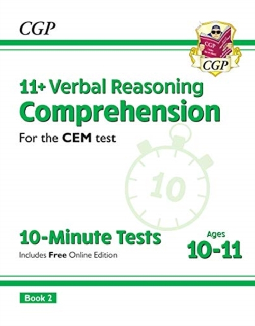 New 11+ CEM 10-Minute Tests: Comprehensi