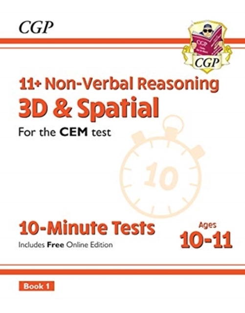 New 11+ CEM 10-Minute Tests: Non-Verbal