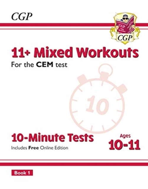 New 11+ CEM 10-Minute Tests: Mixed Worko