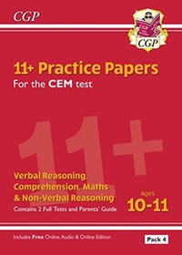 New 11+ CEM Practice Papers: Ages 10-11