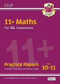 New 11+ GL Maths Practice Papers: Ages 1