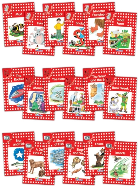 Jolly Phonics Readers, Complete Set Leve