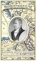 Bradshaw's Railway Map Great Britain and