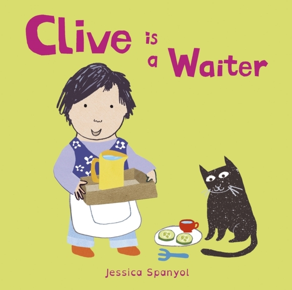 Clive is a Waiter