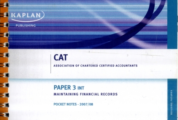 (INT) Maintaining Financial Records - Po