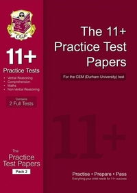 11+ Practice Papers for the CEM Test - P