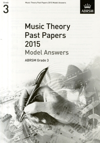 MUSIC THEORY PAST PAPERS ANSW GRDE3 2015